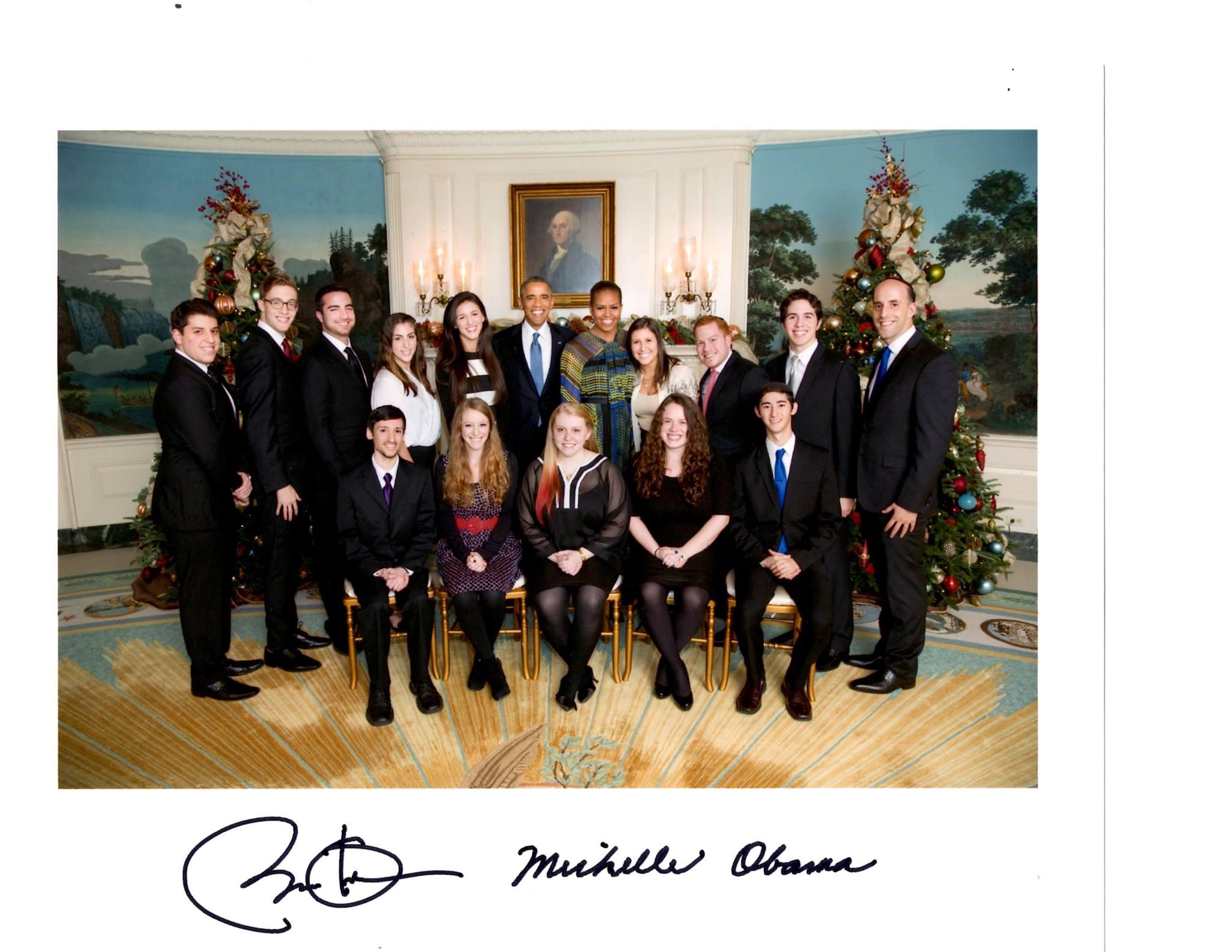 Annual White House Hanukkah Party 2014