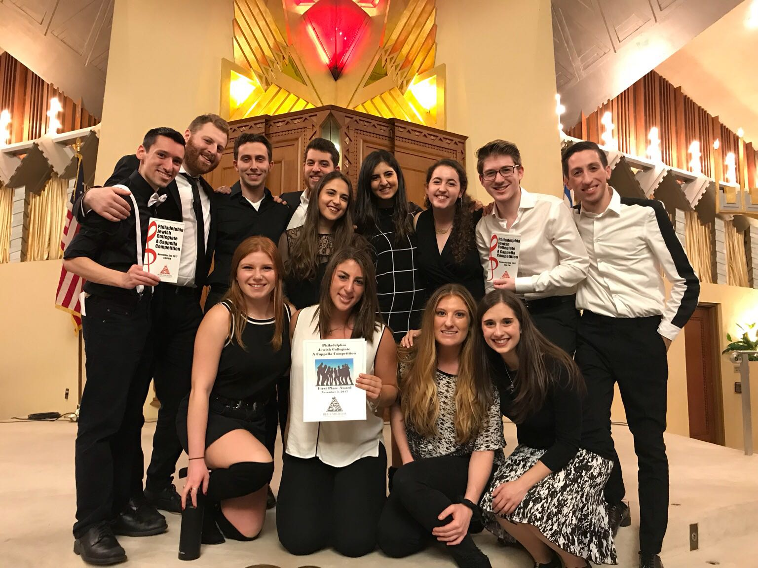 1st Place @ Philadelphia Jewish Collegiate A Cappella Competition